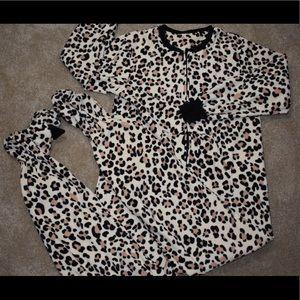 Cheetah onesie